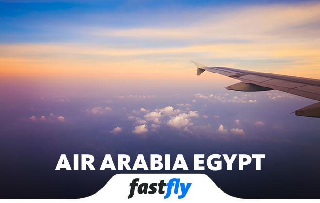 air arabia egypt nerelere uçuyor