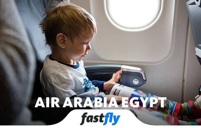 air arabia egypt uçakları