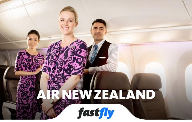 Air New Zealand uçuşları