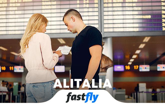 Alitalia nerelere uçuyor