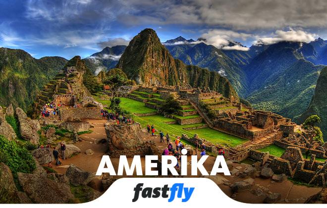 amerika uçak bileti al