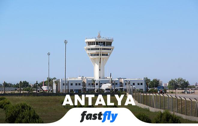 antalya havalimanı kule