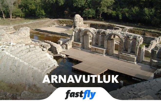 arnavutluk butrint antik kenti