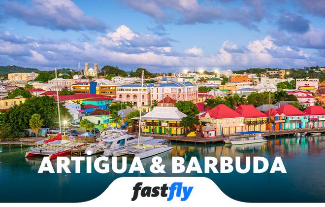 Antigua ve Barbuda uçak bileti