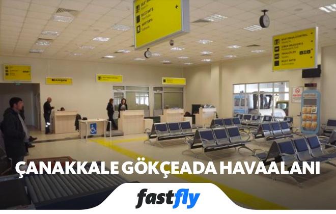 Çanakkale Gökçeada Havalimanı iç hatlar