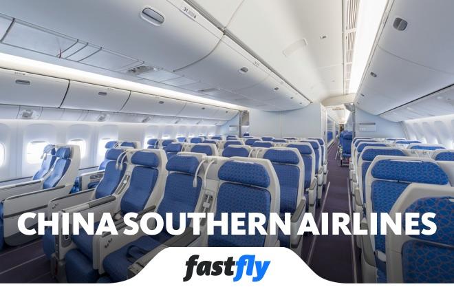 china southern airlines uçuşları