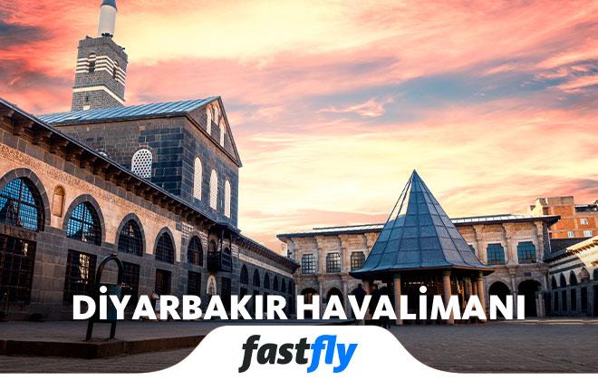 Diyarbakır havalimanı gezilecek yerler