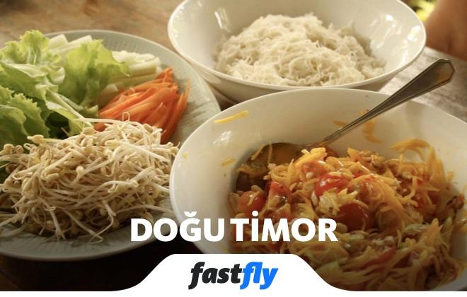 doğu timor yemek kültürü
