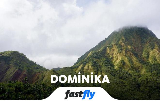 Dominika Morne Bruce Dağı