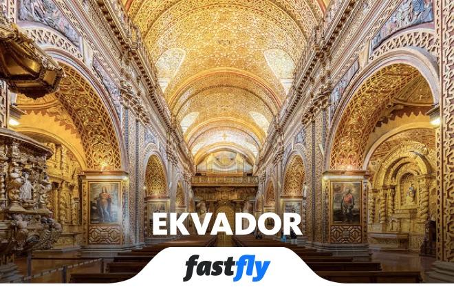 Ekvador Compania de Jesus Quito