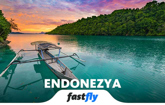 endonezya uçak bileti