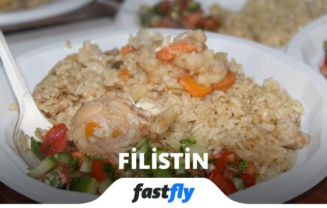 filistin yemek kültürü