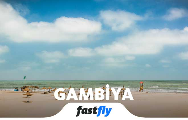 gambiya uçak bileti