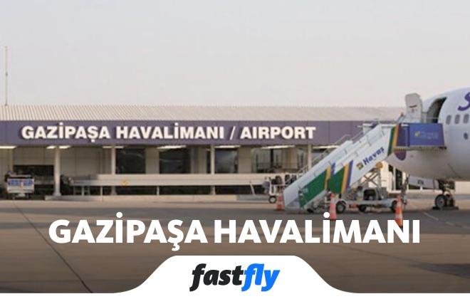 gazipasa havalimani uçak bileti