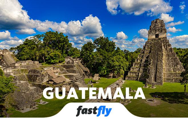 guatemala uçak bileti