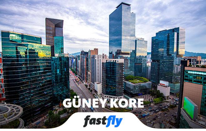 Güney Kore uçak bileti