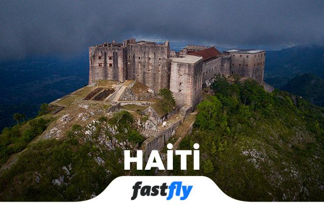 haiti uçak bileti