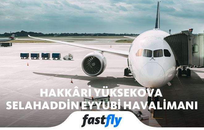 Hakkari Yüksekova Havalimanı uçak bileti