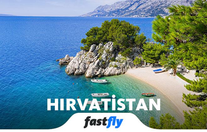 hırvatistan uçak bileti