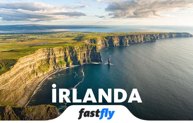 irlanda uçak bileti