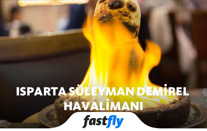 ısparta süleyman demirel havalimanı yemekleri