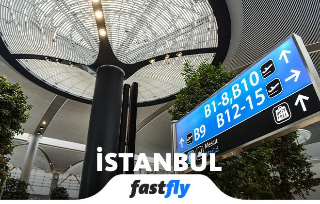 İstanbul Havalimanı Bekleme Salonu