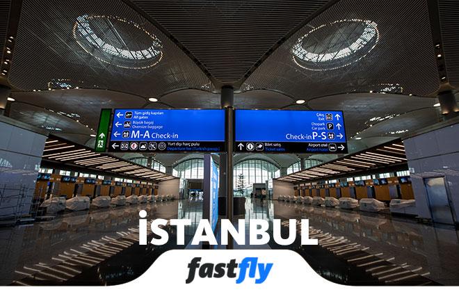 İstanbul havalimanı içi