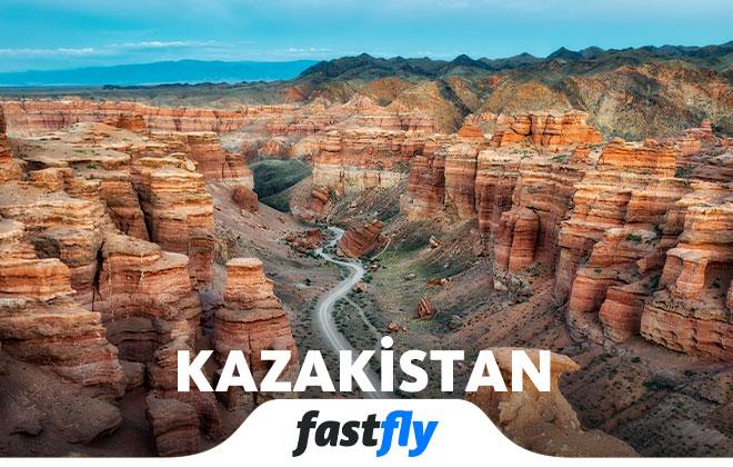 kazakistan nasıl gidilir