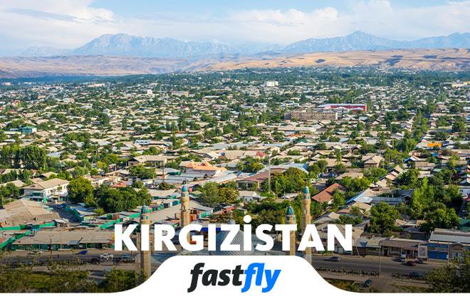 kırgızistan havalimanı