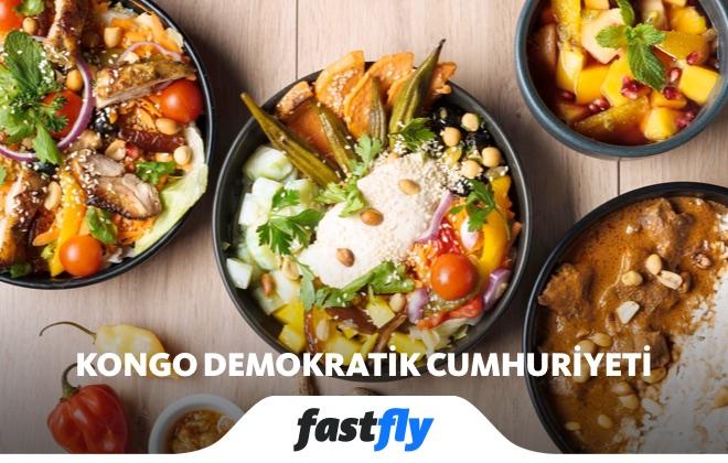 kongo demokratik cumhuriyeti yemek kültürü