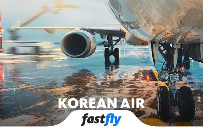 korean air nerelere uçuyor