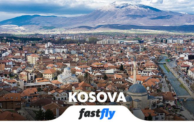 kosova uçak bileti