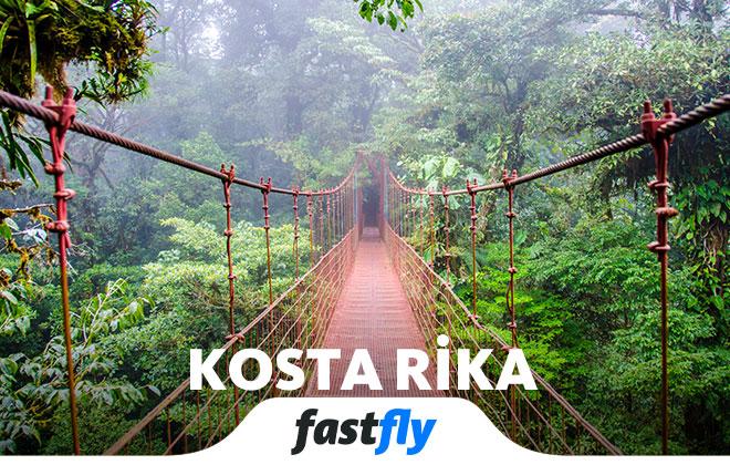 Kosta Rika uçak bileti