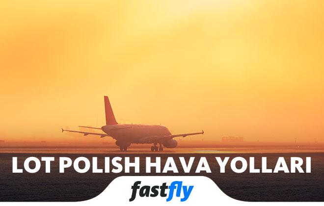 LOT Polish hava yolları uçakları