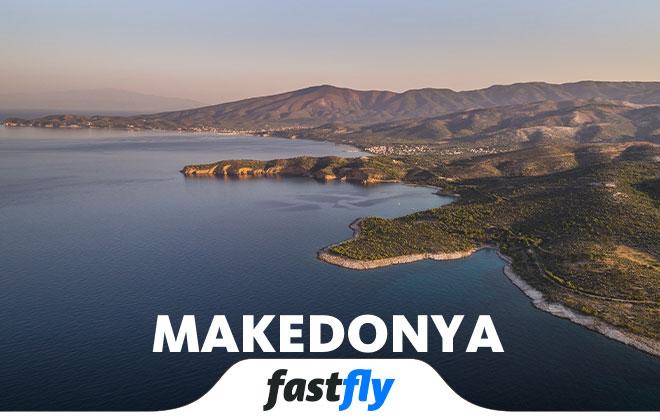 makedonya uçak bileti