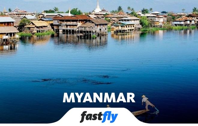 myanmar inle gölü