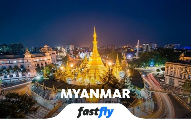 myanmar yangon şehri