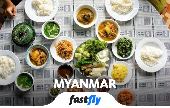 myanmar yemek kültürü