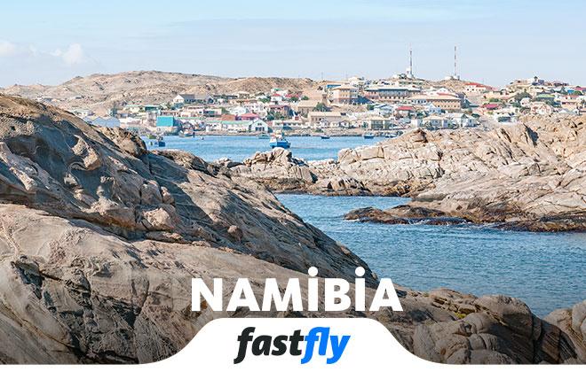 namibia uçak bileti