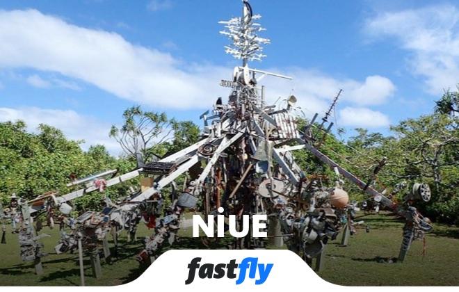 niue heykel parkı