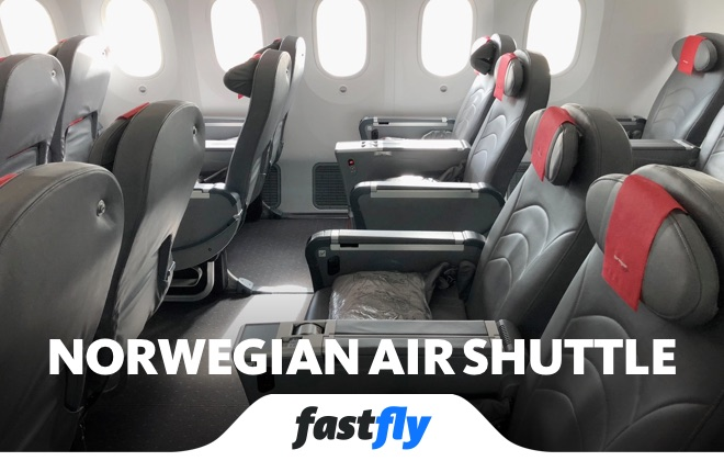 norwegian air shuttle uçuşları