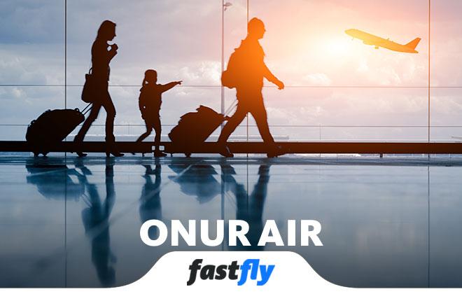 Onur Air uçak bileti fiyatları