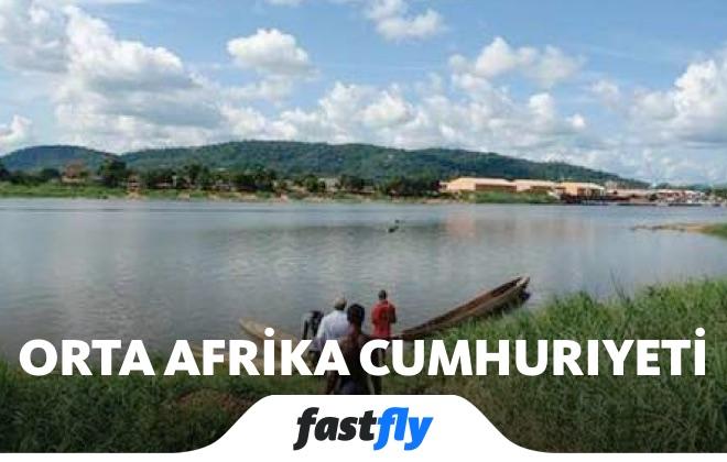 orta afrika cumhuriyeti ubangi nehri