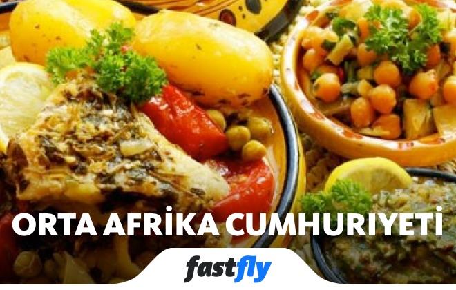 orta afrika cumhuriyeti yemek kültürü