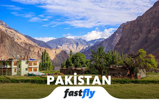 pakistan uçak bileti