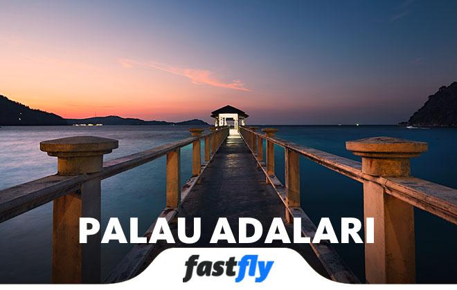 palau adalari uçak bileti