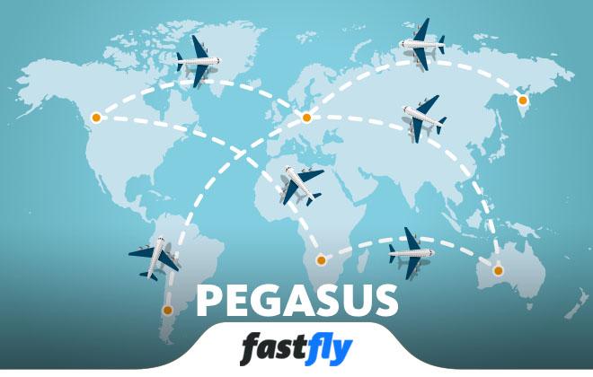 Pegasus Uçak Bileti satın al