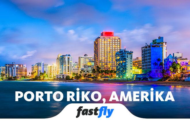 porto riko uçak bileti