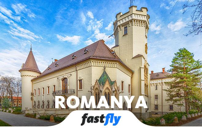 romanya uçak bileti