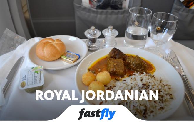 Royal Jordanian uçak bileti